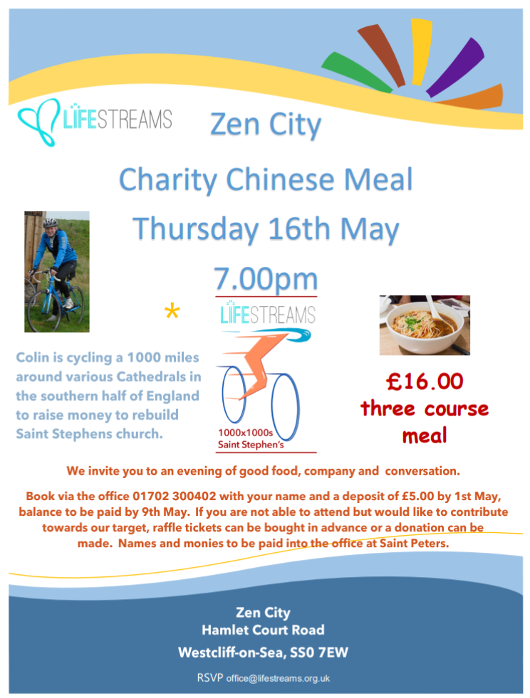 Chinese Charity Meal